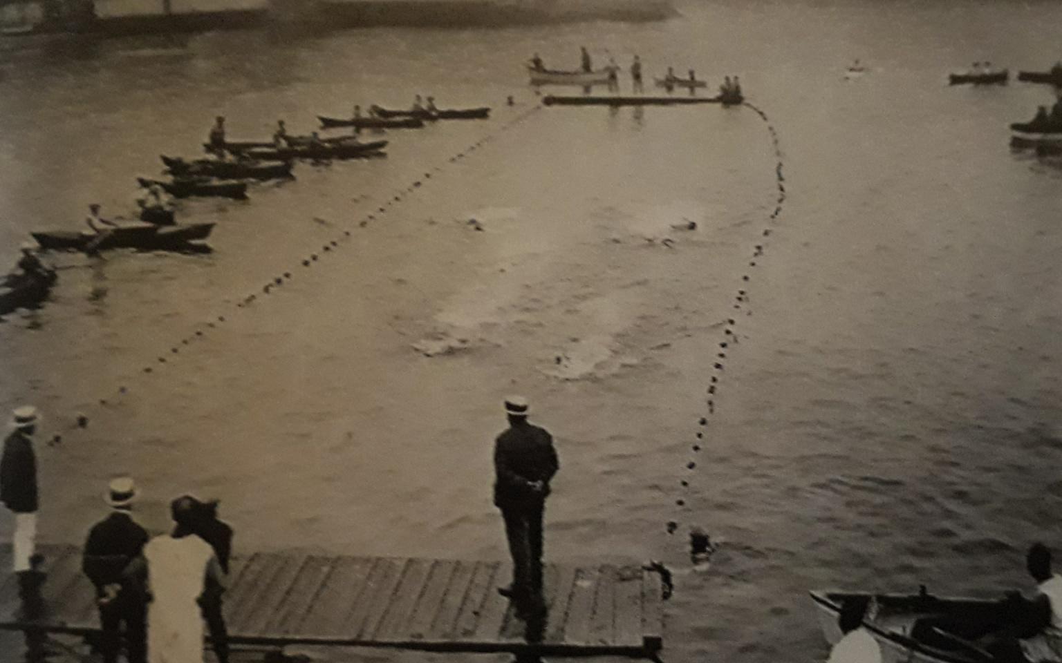 Bassins de nage anse des catalans à Marseille
