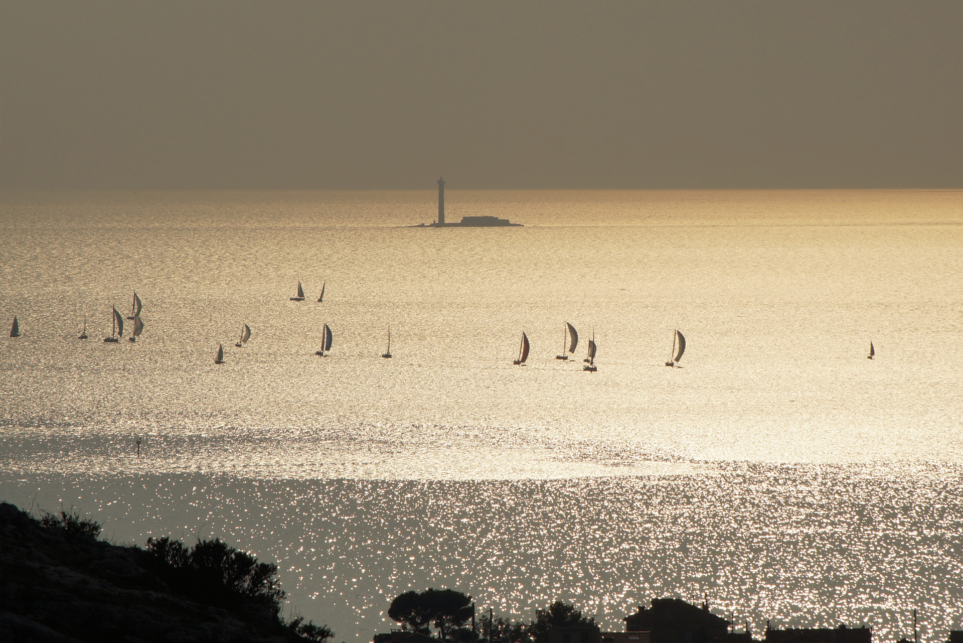 Le phare de Planier à Marseille
